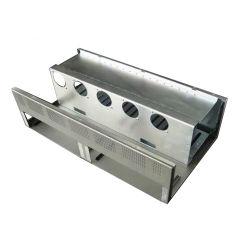 Estrutura do CNC personalizado em alumínio da tampa de chapa de aço inoxidável punção de flexão de Corte a Laser Estampagem de fabricação de soldadura