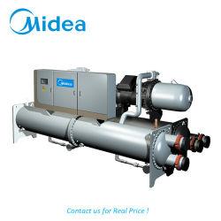 Midea затоплены водой винт с водяным охлаждением охладитель 380V-3фазы-50Гц 882.1Lsblg890 квт затоплены винт испарителя охладитель