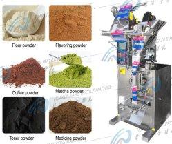 Кофе молоко стеклоомыватели Spice стирального порошка вертикальные упаковочные машины