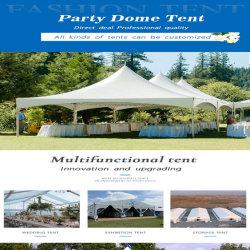 Die Bedingung ist 6 * die 6m Pagode-Zelt-Material ist Kurbelgehäuse-Belüftung, das für Hochzeits-Zeremonie-Zelt-Partei-Zelt-Aktivitäts-Zelt-Hochzeits-Zelt-Garten-Terrasse-Zelt verwendet werden kann