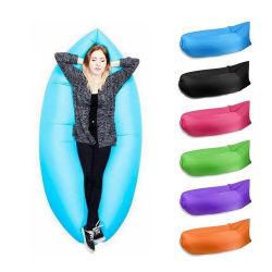 Salão de ar Lazy Sofá Ar inflável sofá para dormir de praia local Exterior e Interior Laybag Hammock espreguiçadeira logotipo personalizado