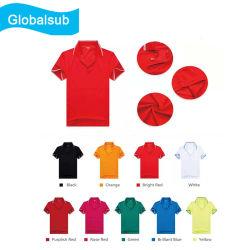 熱伝達の印刷のための短い袖のポロシャツ