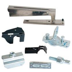 Fabricante de alta calidad OEM de piezas de acero inoxidable de Hardware de piezas de repuesto Piezas de la máquina de estampación