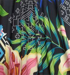 Custom Esticar Tecidos de malha de poliéster de licra de impressão para os calções de banho