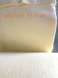 Нетканого материала игольчатый перфорированного Antistsatic Умс фильтр считает тканью подушки безопасности для промышленных пыли корпус