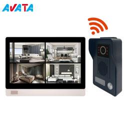 DC 12V Smart Vídeo WiFi Campainha Tocar campainha com porta de vídeo câmera Brunidor inteligentes IP WiFi vídeo Intercom Telefone Tocar campainha sem fio