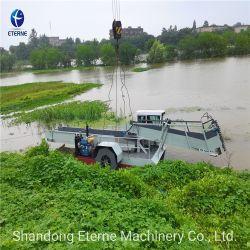 Het de de Schoonmakende Machine/Boot/Schip van de rivier voor het Drijvende Aquatische Onkruid van het Huisvuil van het Afval in Rivieren en Meren