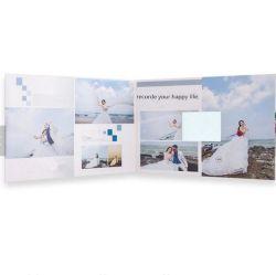 kundenspezifische videokarte der Hochzeits-4.3inch für Einladung