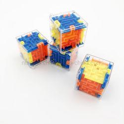 Plastik 3D Magic Maze Cube Puzzle Werbegeschenk für Kinder