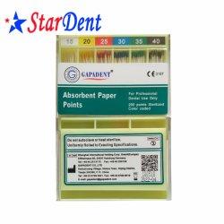 D'origine dentaire Gapadent du papier absorbant les points de matériel dentaire