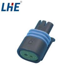 12162193 Delphi Automotive terminal de cableado Auto 2 Pin conector impermeable