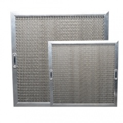 범위 두건과 부엌 장비를 위한 스테인리스 벌집 윤활제 필터
