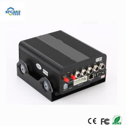 4 canaux de disque dur haute définition mobile manuel DVR voiture caméra enregistreur DVR Vidéo