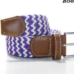 B06 최신 판매 땋는 탄력 있는 뻗기 벨트 Pin 버클 군 웹 고전적인 화포 상단 디자이너 벨트