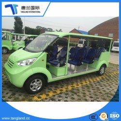 Mooi Ontwerp China 11 de Elektrische Auto van het Sightseeing van de Bus van de Pendel Seater
