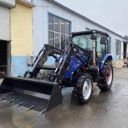 La Chine le savez bien 100 HP tracteur, 4 roue entraînée machine agricole avec chargeur