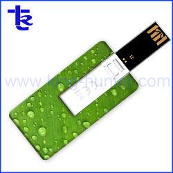 Vierecks-Entwurfs-Plastik passte Druck USB-Blitz-Laufwerk-Qualität an