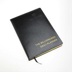 文房具B5の立案者販売のためのロゴのサイズによって並べられる日記のノート
