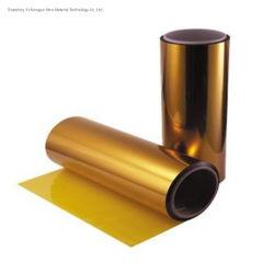 25um color ámbar poliamida Kapton Film para cinta adhesiva de silicona
