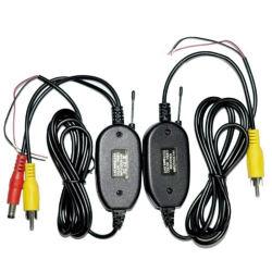 2018 2,4 GHZ sans fil émetteur récepteur vidéo RCA Kit pour lecteur de DVD de voiture Moniteur et Cam Caméra de recul de marche arrière