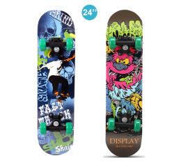 Mini 24 дюйма деревянный щит клена и скейт-плата роликовой доске