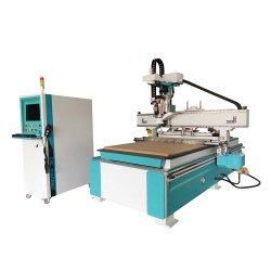 Cnc-hölzerne schnitzende Stich-Fräser-Aufzug-Ausschnitt-Holzbearbeitung-Tischler-Tischler-verzapfende Tür, die Werkzeugmaschinen herstellt