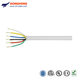 Usine directement à la vente de couleur blanche Veste PVE CCA /BC 6 câble d'alarme incendie de base