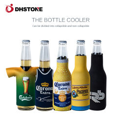 precio de fábrica puede neopreno tapa de la botella del refrigerador para la promoción de la bolsa de refrigerador