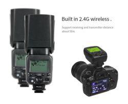 Triopo Tr600s voor de Flits van de Camera van Sony Ttl met 2.4G Radio met * Hoge snelheid Sync* voor Digitale Camera's SLR
