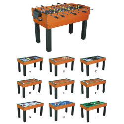 Jogo de Múltiplos de qualidade Extra Matraquilhos Soccer Table (combinadas com mais de 10 jogos em 1), Melhor combinação com o Melhor Preço