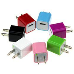 5V 1A Mini Colorful EUPlug USB Power Home Wall Charger Adapter für iPod für iPad für iPhone 6 5s 5c 4s für