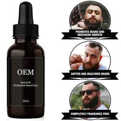 Orgánicos personalizado Barba Barba esencia Juego de aceite el tratamiento