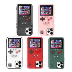 Retro coperchio della cassa del telefono di Gameboy dello schermo di colore 3D per il iPhone/Samsung/Huawei/Vivo/il caso mobile coperchio di Oppo Gameboy con 36 giochi