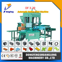 Df3-20 Face Eléctrico da máquina de tijolos de Pavimentação