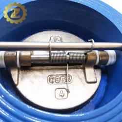 صمام فحص رقاقة مزدوجة DN250 Pn16 صناعي