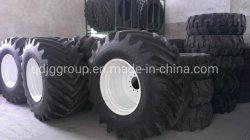 Ferme la moissonneuse-batteuse pneu 800/65R32 avec RIM DW27X32