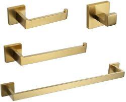Los productos de hardware de cristal conjunto de los racores de Acero Inoxidable Accesorios de Baño