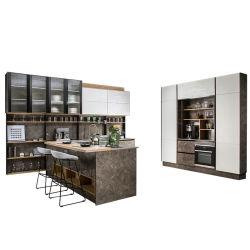 Cocina Oppein Fit-Outs último diseño armarios de cocina con barra de Bar