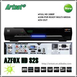 Full HD декодера Azfox S2s для южной Amercia