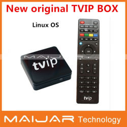 S-Box Tvip IPTV/Ott Media Player Caixa de IPTV