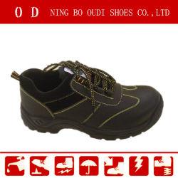 أحذية السلامة منخفضة القطع من الجلد الساخن للبيع (ABP1-2013)
