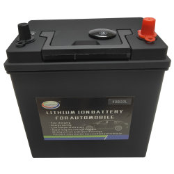 BMSの保護と12V 38ah LiFePO4のカー・バッテリーを満たす2000times
