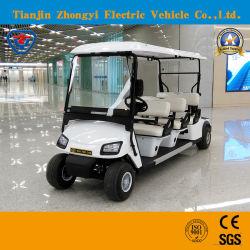 道電池式ギヤステアリング、自動バックラッシュの補償の標準的なシャトルの電気観光のゴルフ車を離れて6 Seater