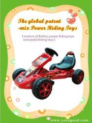 Popul?res Mix Power gehen Kart Baby Ride auf Car Driven durch Both Pedal und Battery gehen Kart