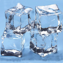 El cuadro confeti cubito de hielo a favor de la boda de piedra de diamante de acrílico