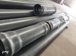 Dn160 6mの高品質の工場低価格堅いPVC/CPVCの地下のプラスチック潅漑の滴りの具体的な半分の管