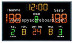 Multi-Sport Anzeigetafel für Basketball-Handball-Volleyball, elektronischen Punktezähler u. Timer