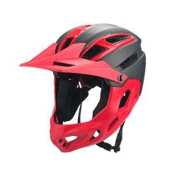 OEM face complète Kids Casque de vélo BMX Fullface détachable du moteur pour les enfants les casques de vélo de course de cyclisme Logo personnalisé