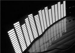 LED Auto EQUALIZER EL autocollant de voiture