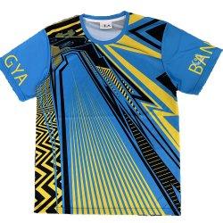 Salle de Gym de conception personnalisée de haute qualité polyester T-shirts pour les hommes de sublimation de l'imprimante